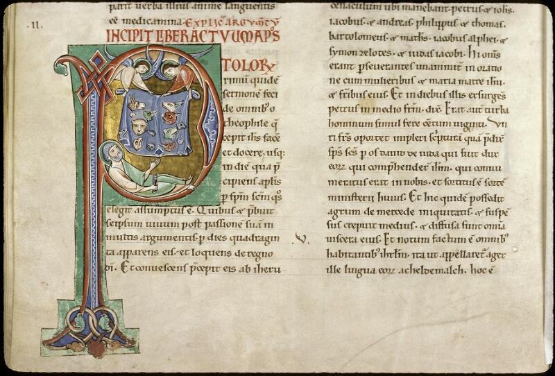 Lyon, Bibl. mun., ms. 0411, f. 219v - vue 1