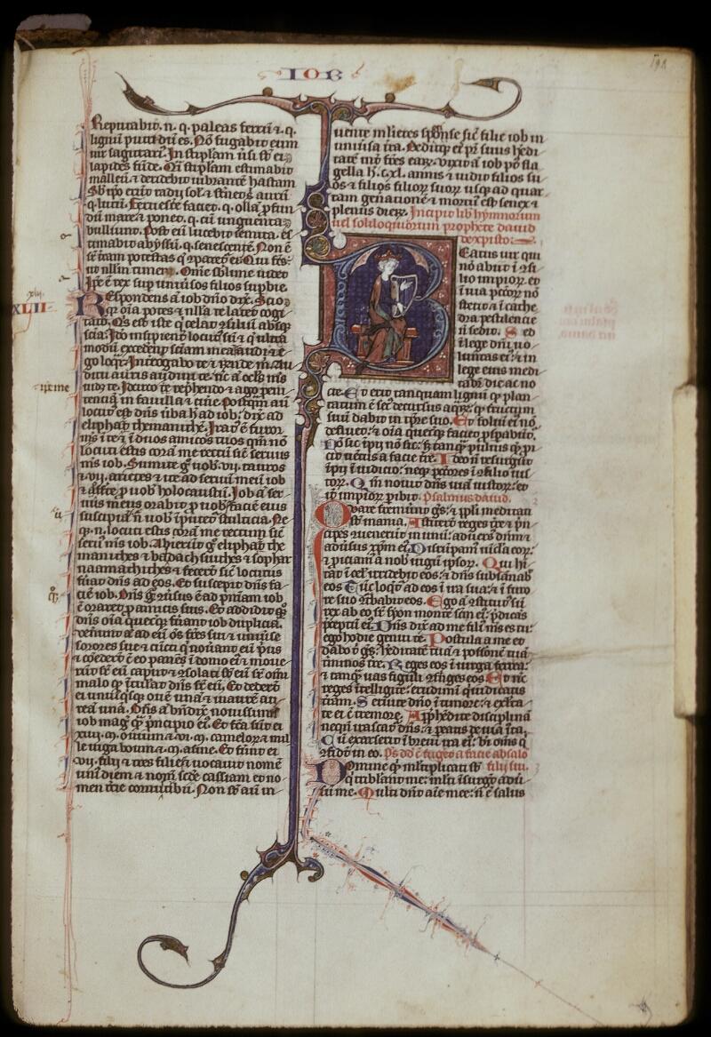 Lyon, Bibl. mun., ms. 0418, f. 198 - vue 1