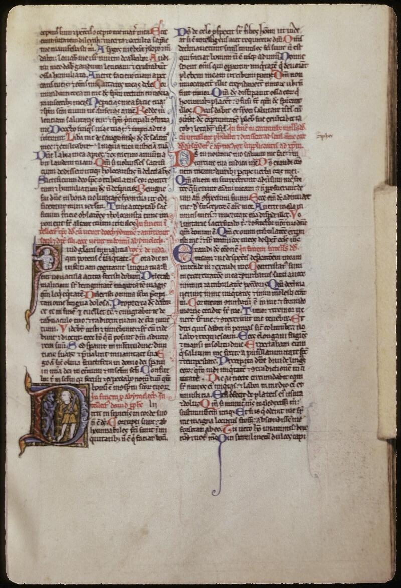 Lyon, Bibl. mun., ms. 0421, f. 205 - vue 1