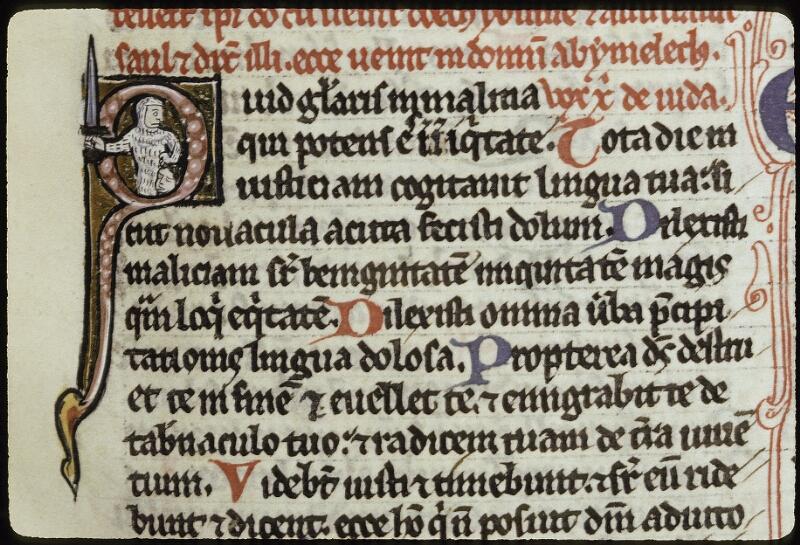 Lyon, Bibl. mun., ms. 0421, f. 205 - vue 2