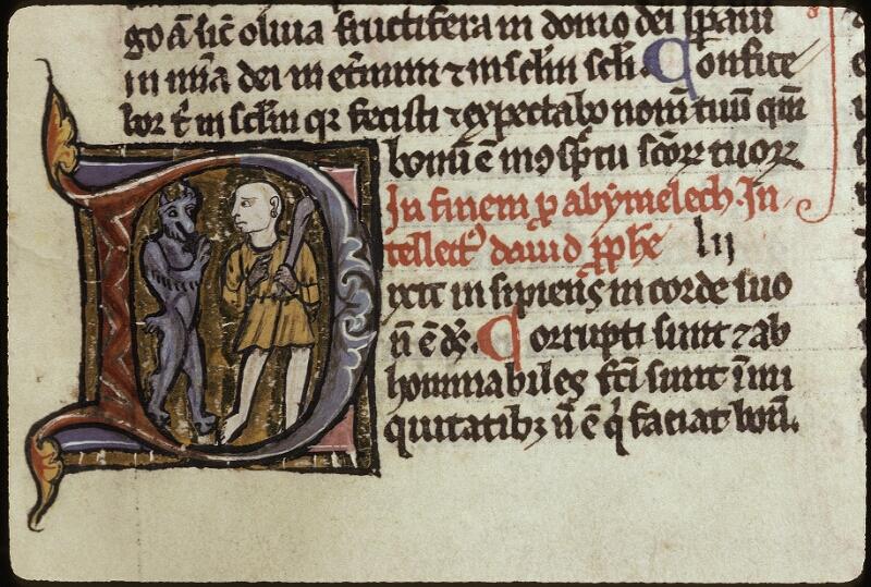 Lyon, Bibl. mun., ms. 0421, f. 205 - vue 3