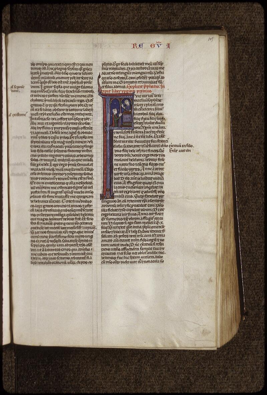 Lyon, Bibl. mun., ms. 0424, f. 105 - vue 1