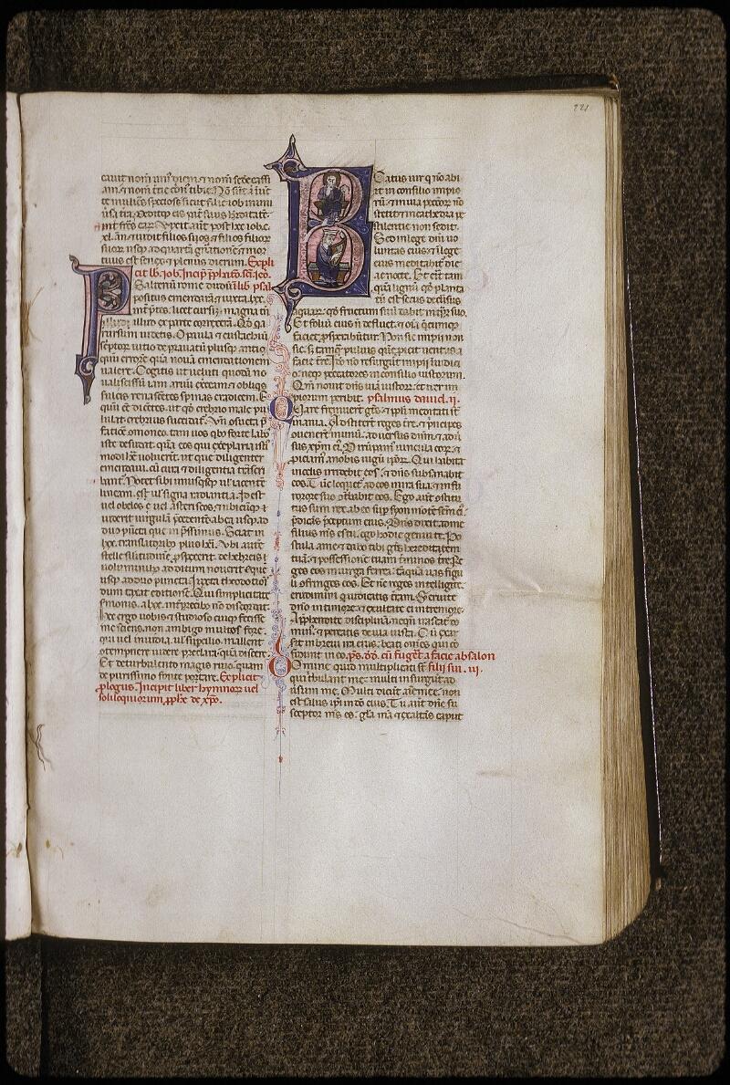 Lyon, Bibl. mun., ms. 0424, f. 221 - vue 1
