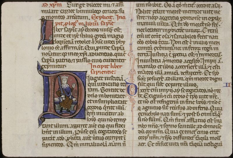 Lyon, Bibl. mun., ms. 0424, f. 261v - vue 1
