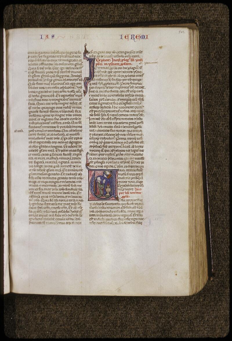 Lyon, Bibl. mun., ms. 0424, f. 302 - vue 1