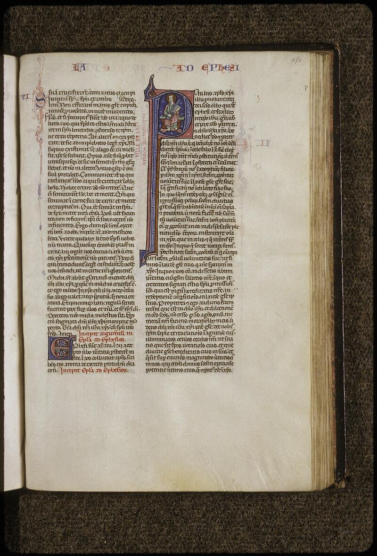 Lyon, Bibl. mun., ms. 0424, f. 470 - vue 1