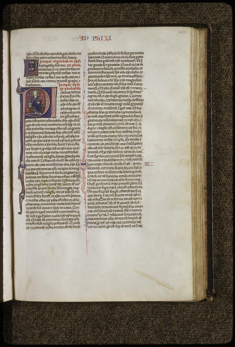 Lyon, Bibl. mun., ms. 0424, f. 472 - vue 1