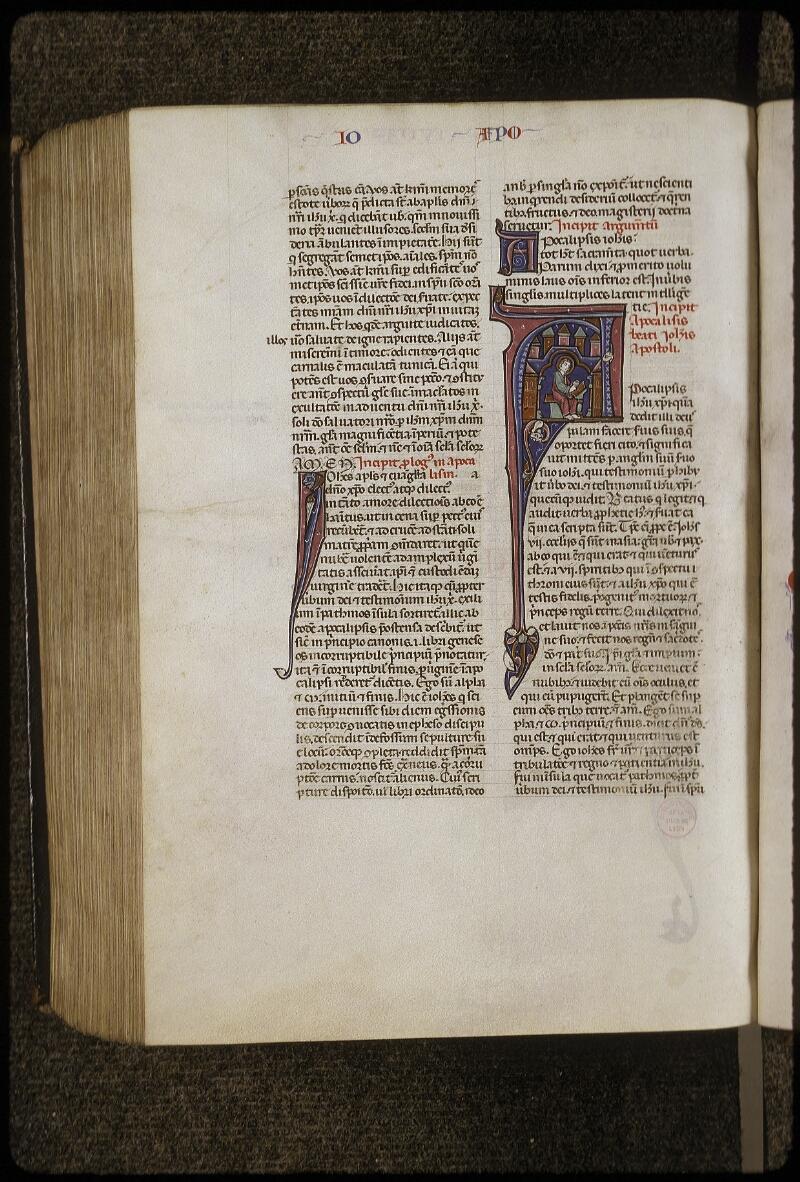 Lyon, Bibl. mun., ms. 0424, f. 503v - vue 1
