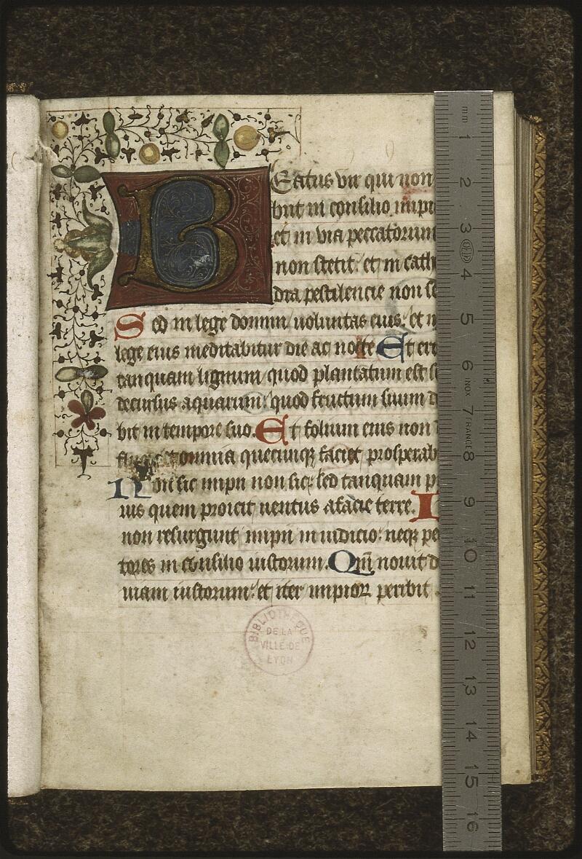 Lyon, Bibl. mun., ms. 0427, f. 001 - vue 1