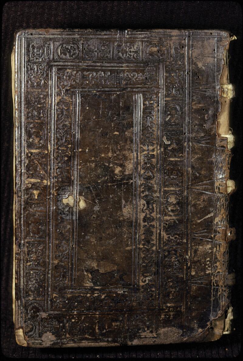 Lyon, Bibl. mun., ms. 0428, reliure plat inf.
