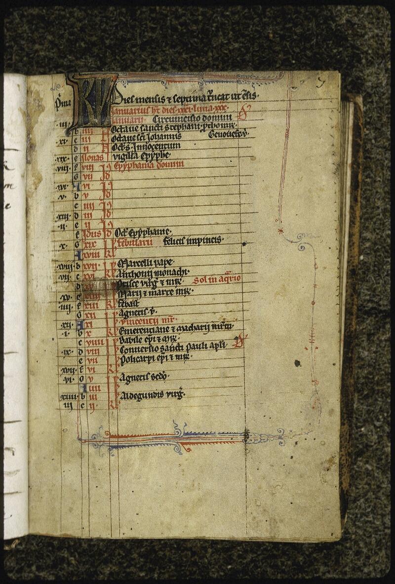 Lyon, Bibl. mun., ms. 0429, f. 007 - vue 2
