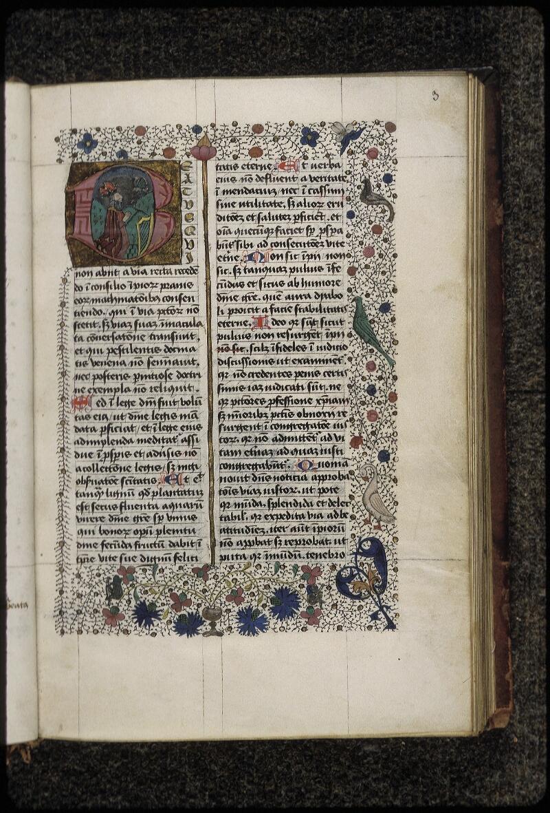 Lyon, Bibl. mun., ms. 0454, f. 003 - vue 1