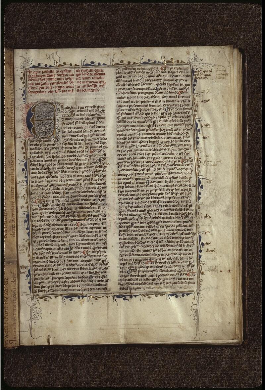 Lyon, Bibl. mun., ms. 0485, f. 001 - vue 2