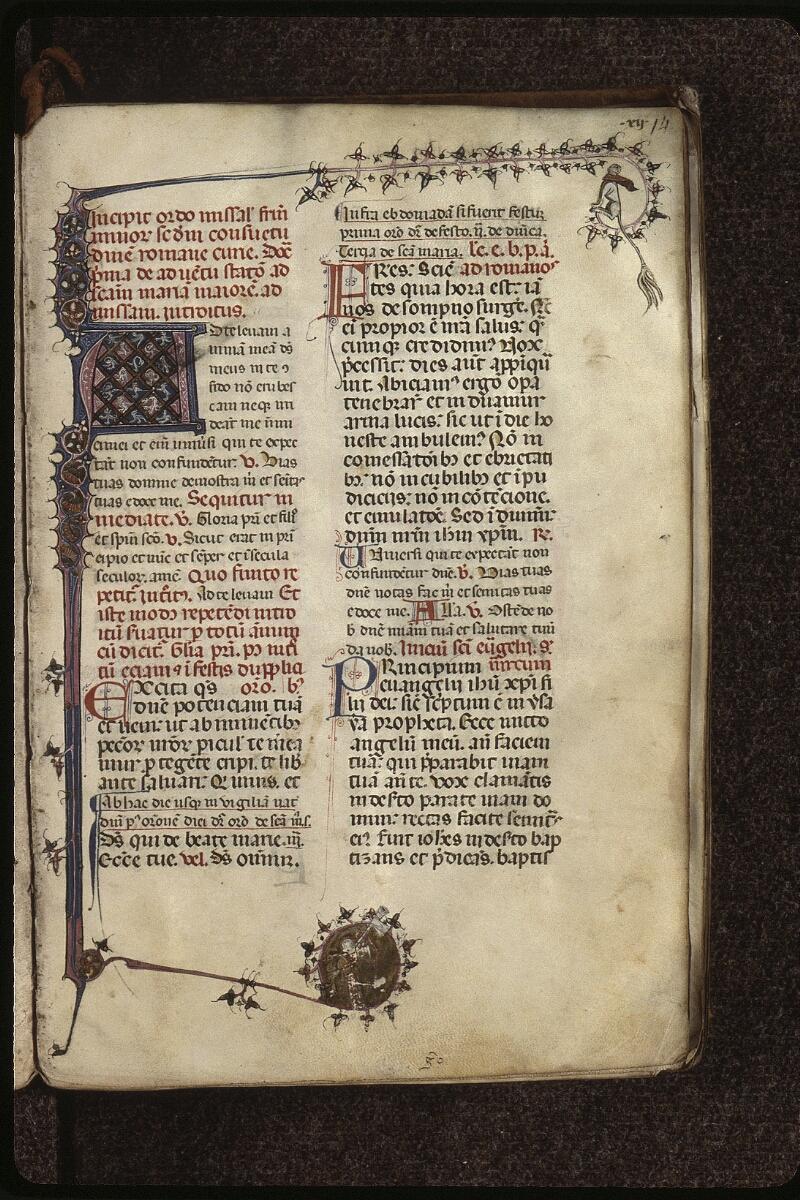Lyon, Bibl. mun., ms. 0512, f. 014 - vue 1