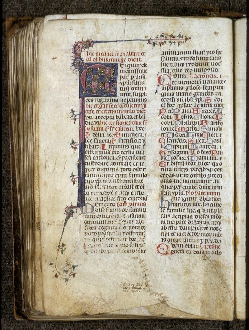 Lyon, Bibl. mun., ms. 0512, f. 110v - vue 1