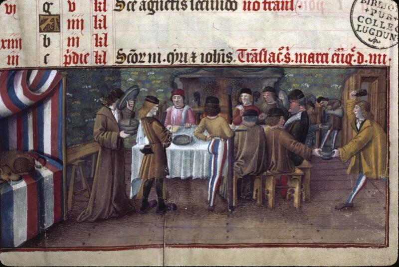 Lyon, Bibl. mun., ms. 0514, f. 001 - vue 3