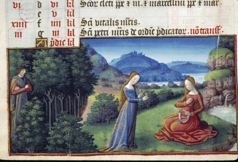 Lyon, Bibl. mun., ms. 0514, f. 002v - vue 2