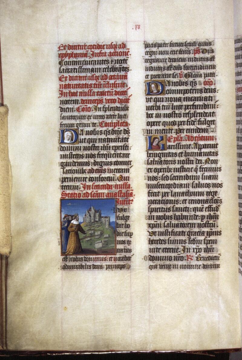 Lyon, Bibl. mun., ms. 0514, f. 017v - vue 1