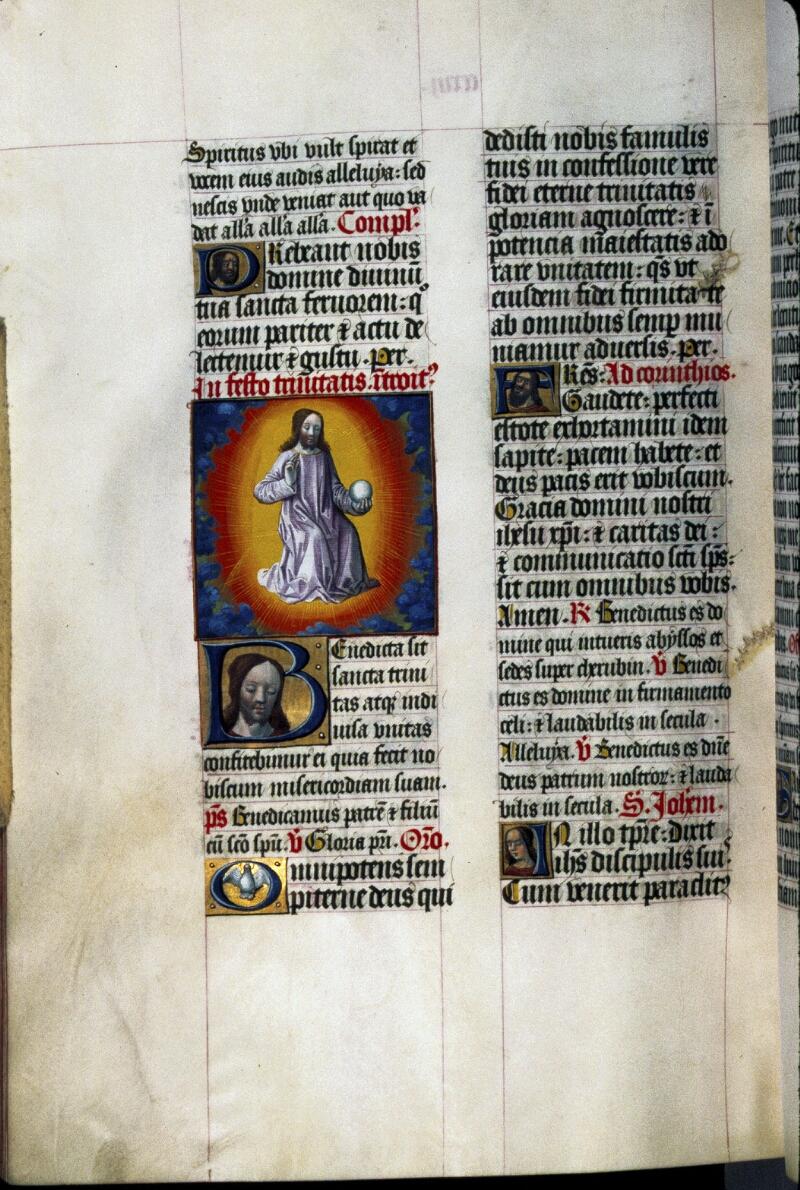 Lyon, Bibl. mun., ms. 0514, f. 217v - vue 1