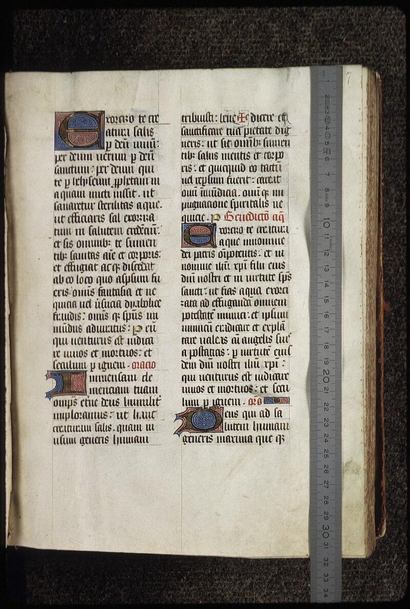 Lyon, Bibl. mun., ms. 0515, f. 007 - vue 1