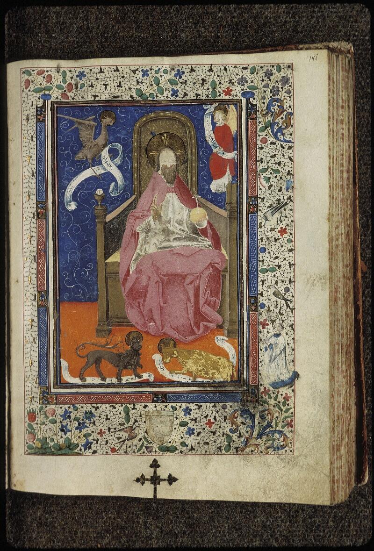 Lyon, Bibl. mun., ms. 0515, f. 148 - vue 1