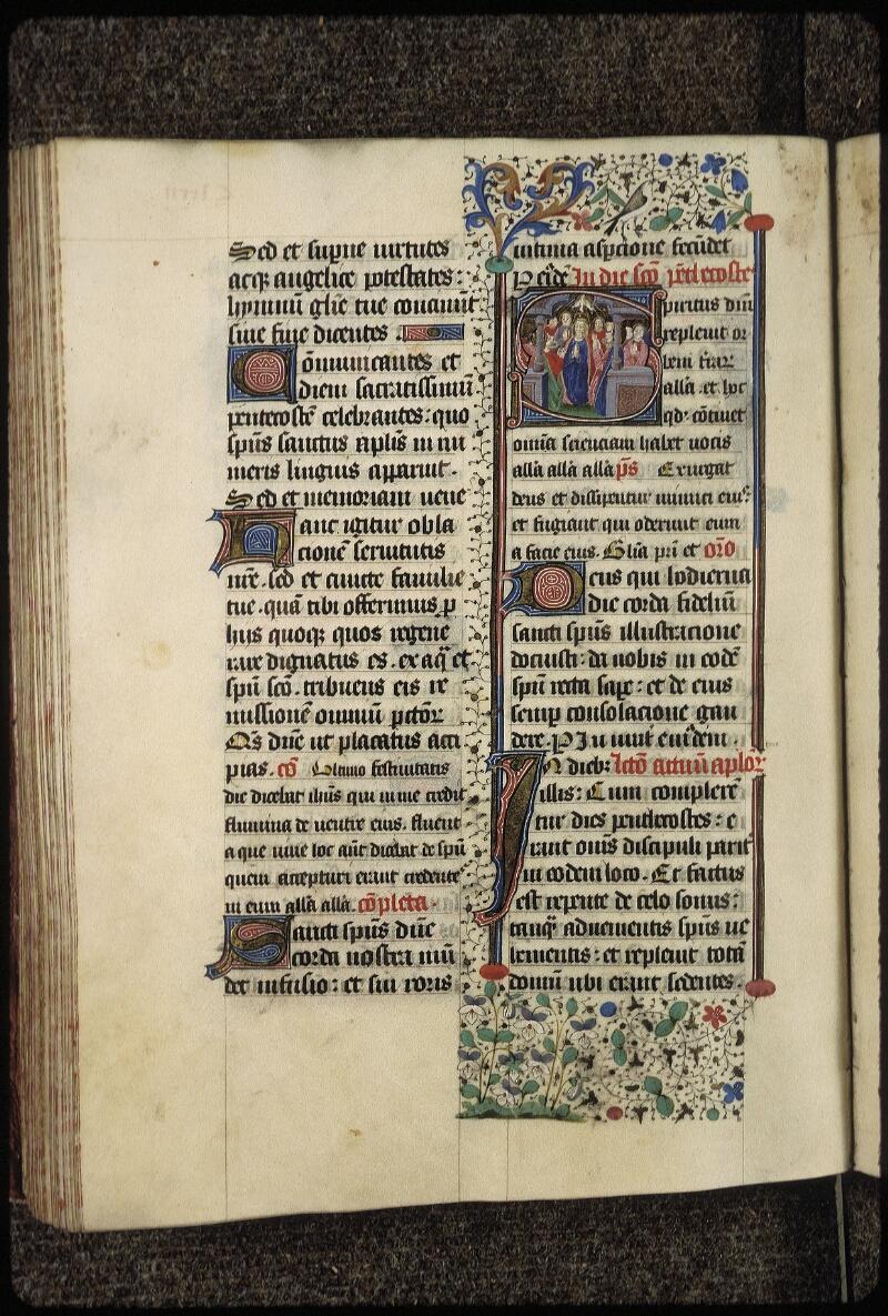 Lyon, Bibl. mun., ms. 0515, f. 185v - vue 1