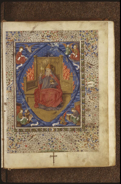 Lyon, Bibl. mun., ms. 0517, f. 184 - vue 1