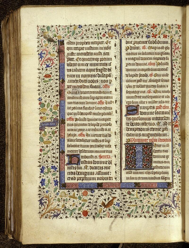 Lyon, Bibl. mun., ms. 0517, f. 400v - vue 1