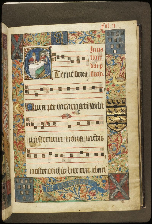 Lyon, Bibl. mun., ms. 0521, f. 002 - vue 1