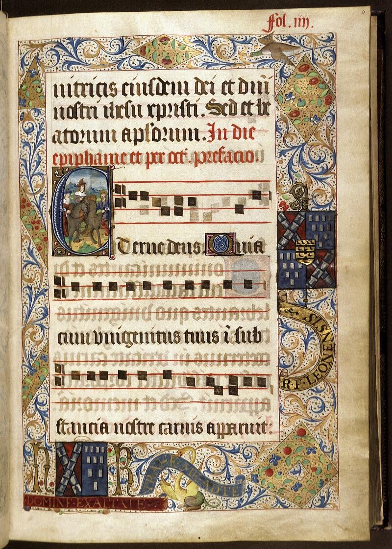 Lyon, Bibl. mun., ms. 0521, f. 004 - vue 1