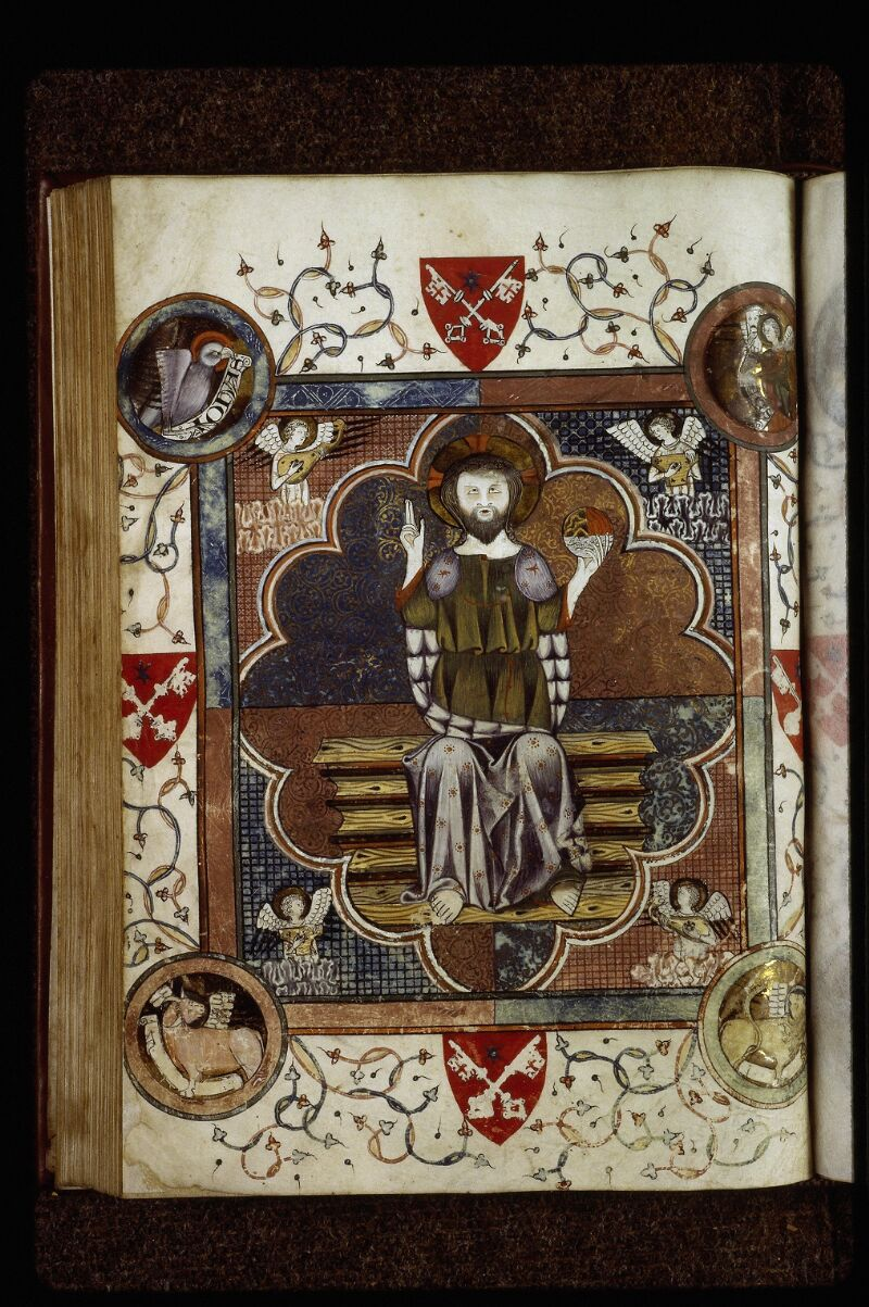 Lyon, Bibl. mun., ms. 0526, f. 110v - vue 1