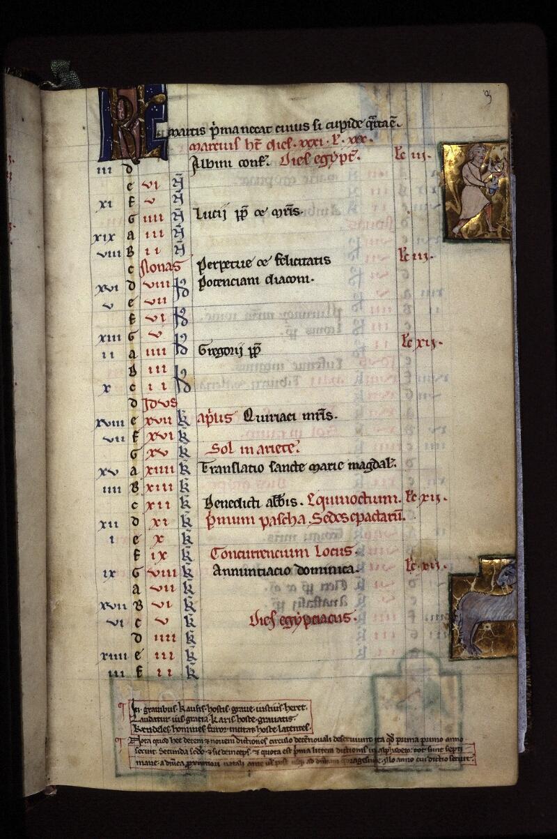 Lyon, Bibl. mun., ms. 0539, f. 003 - vue 1