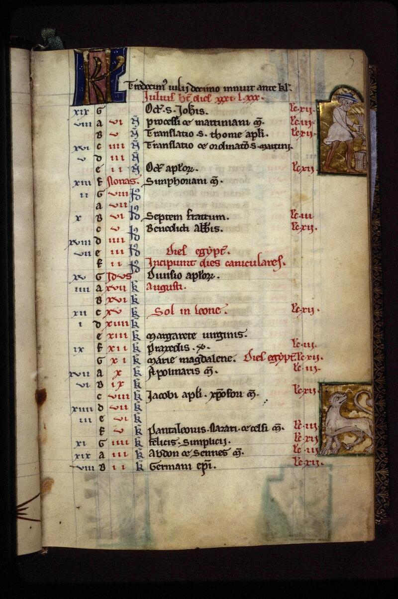 Lyon, Bibl. mun., ms. 0539, f. 005 - vue 1