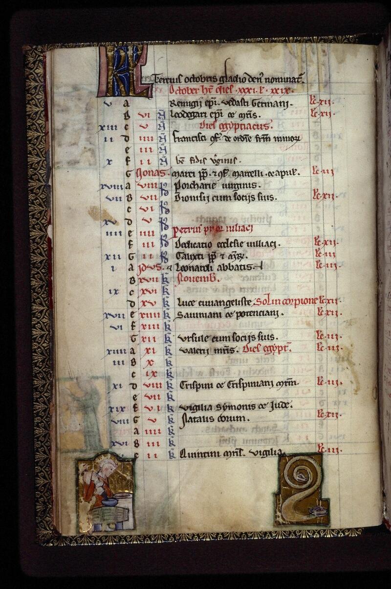 Lyon, Bibl. mun., ms. 0539, f. 006v - vue 1
