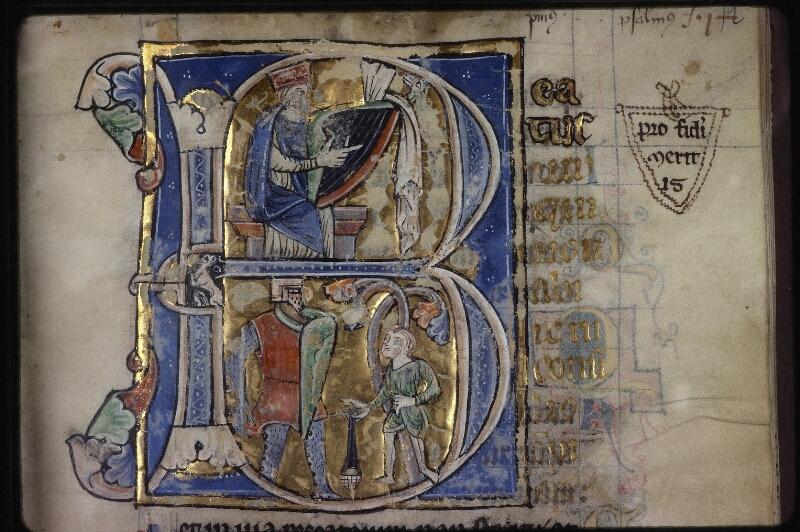 Lyon, Bibl. mun., ms. 0539, f. 012 - vue 1