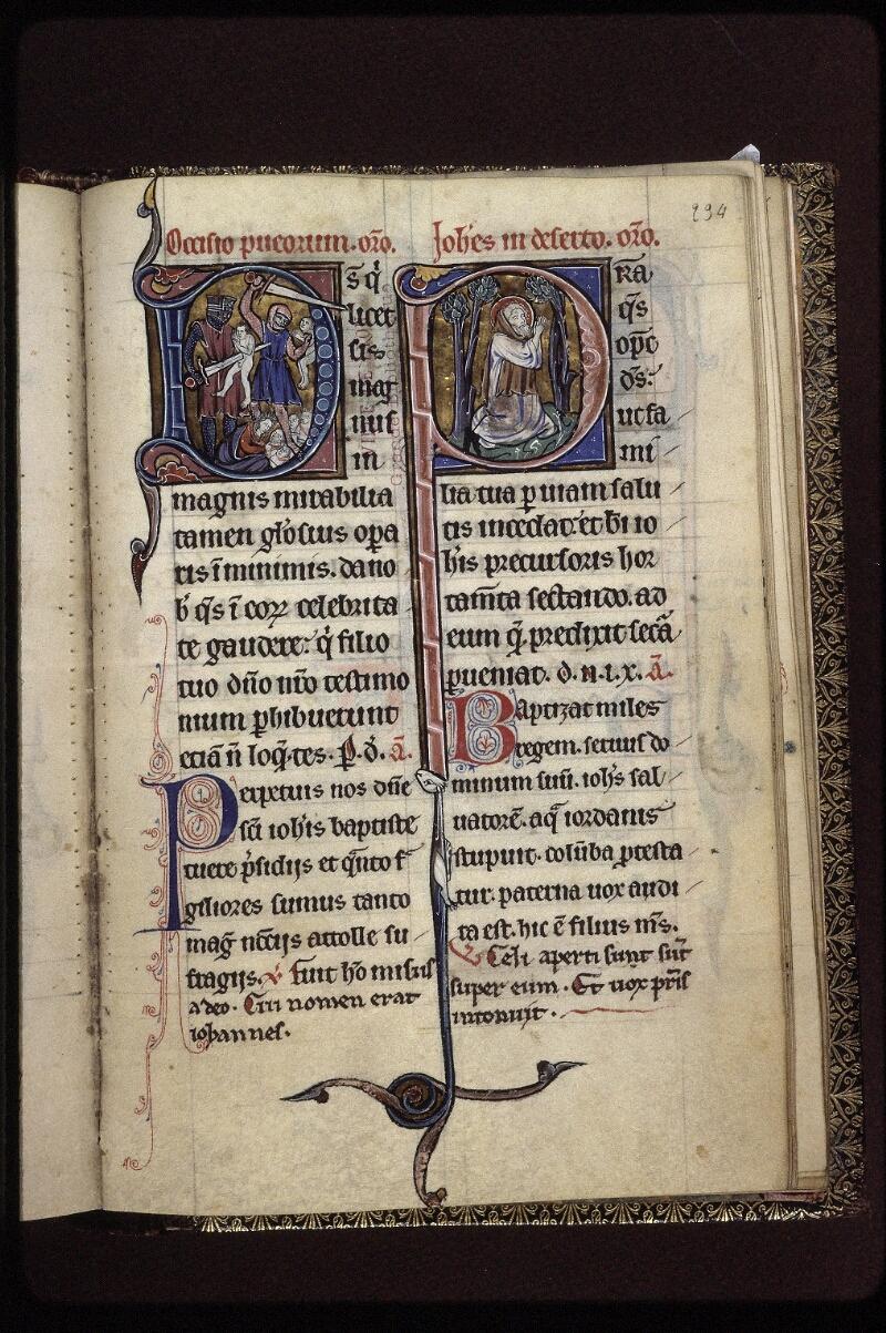 Lyon, Bibl. mun., ms. 0539, f. 234 - vue 1