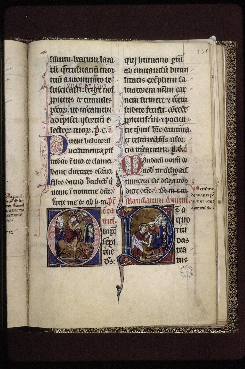Lyon, Bibl. mun., ms. 0539, f. 236 - vue 1