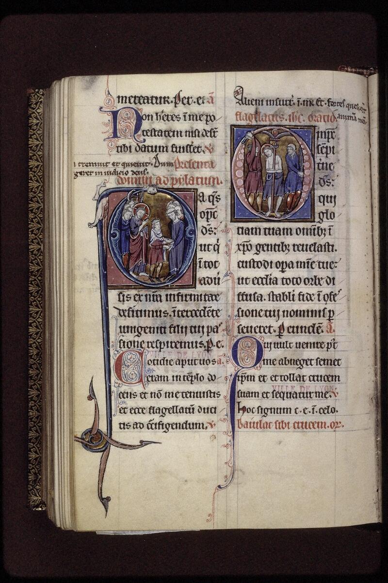 Lyon, Bibl. mun., ms. 0539, f. 237v - vue 1