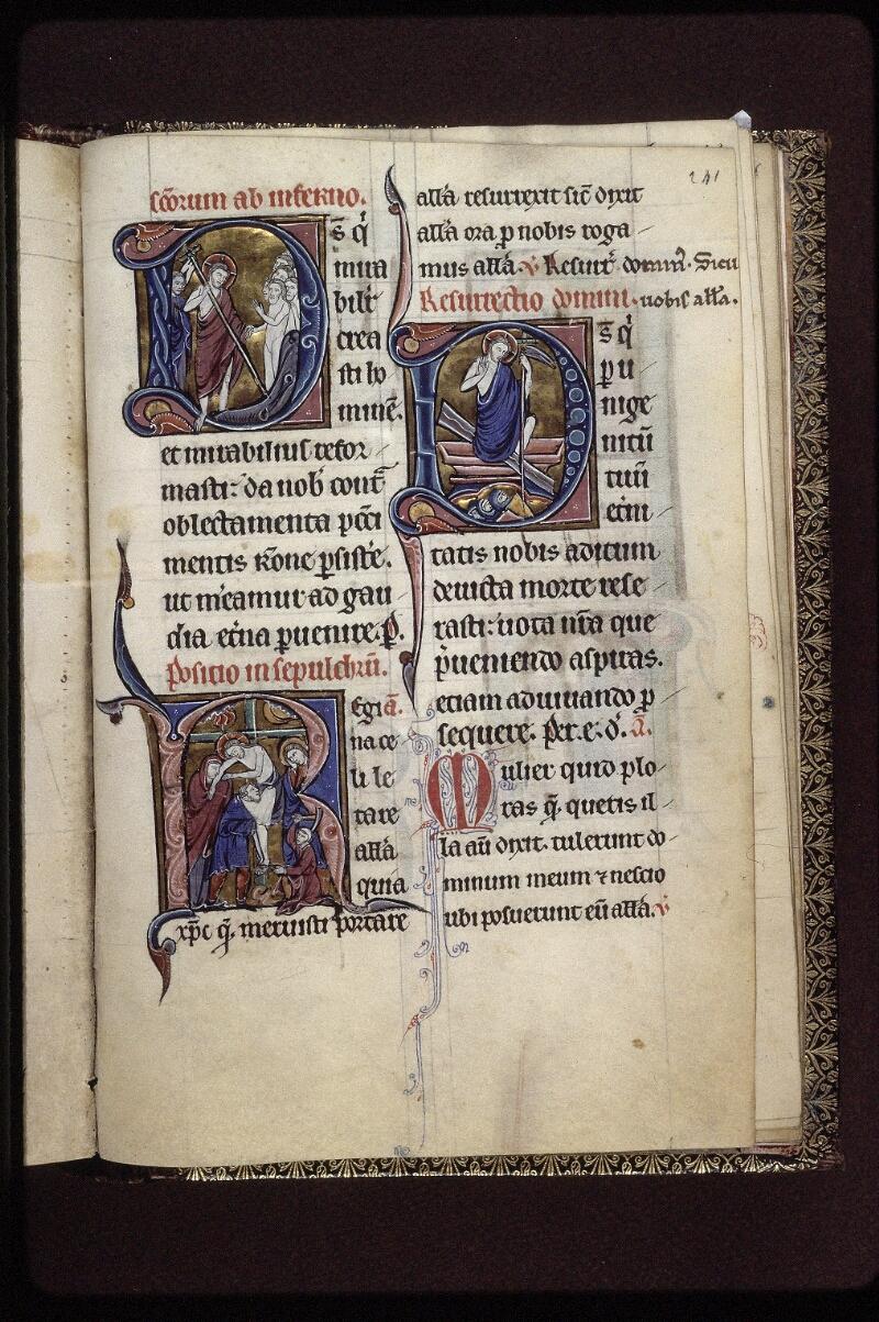 Lyon, Bibl. mun., ms. 0539, f. 241 - vue 1