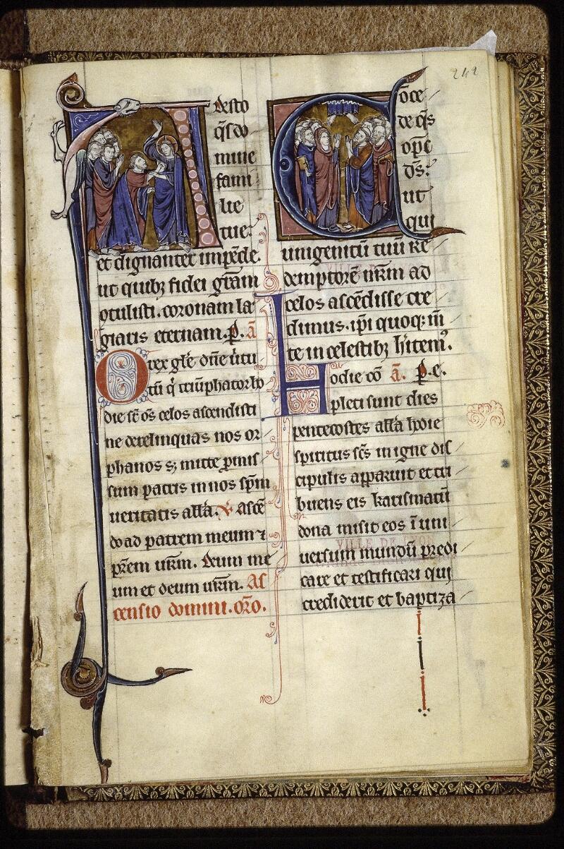Lyon, Bibl. mun., ms. 0539, f. 242 - vue 1