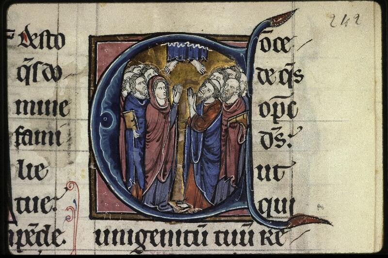 Lyon, Bibl. mun., ms. 0539, f. 242 - vue 3
