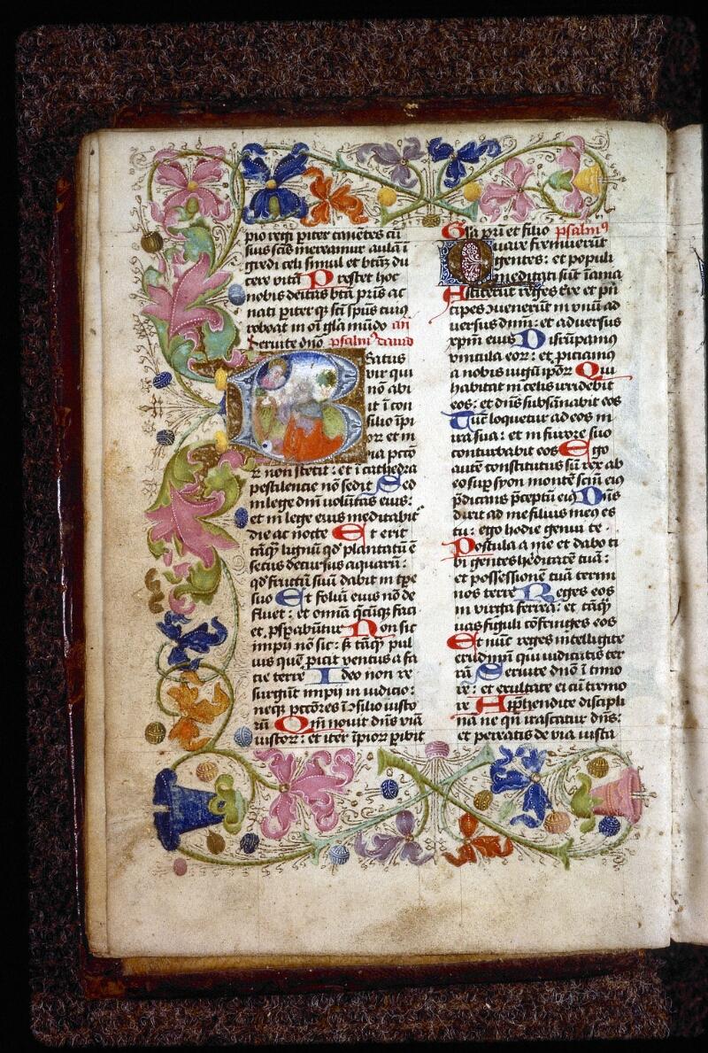 Lyon, Bibl. mun., ms. 0551, f. 008v - vue 2