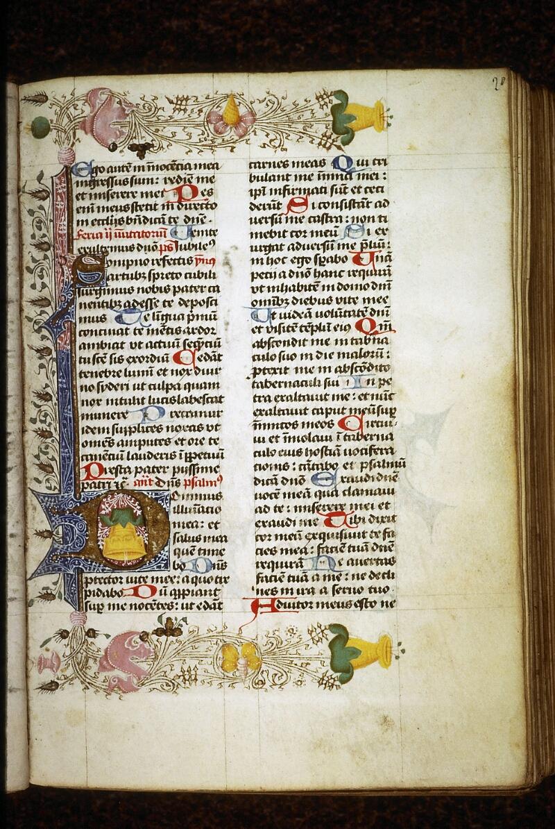 Lyon, Bibl. mun., ms. 0551, f. 020 - vue 1