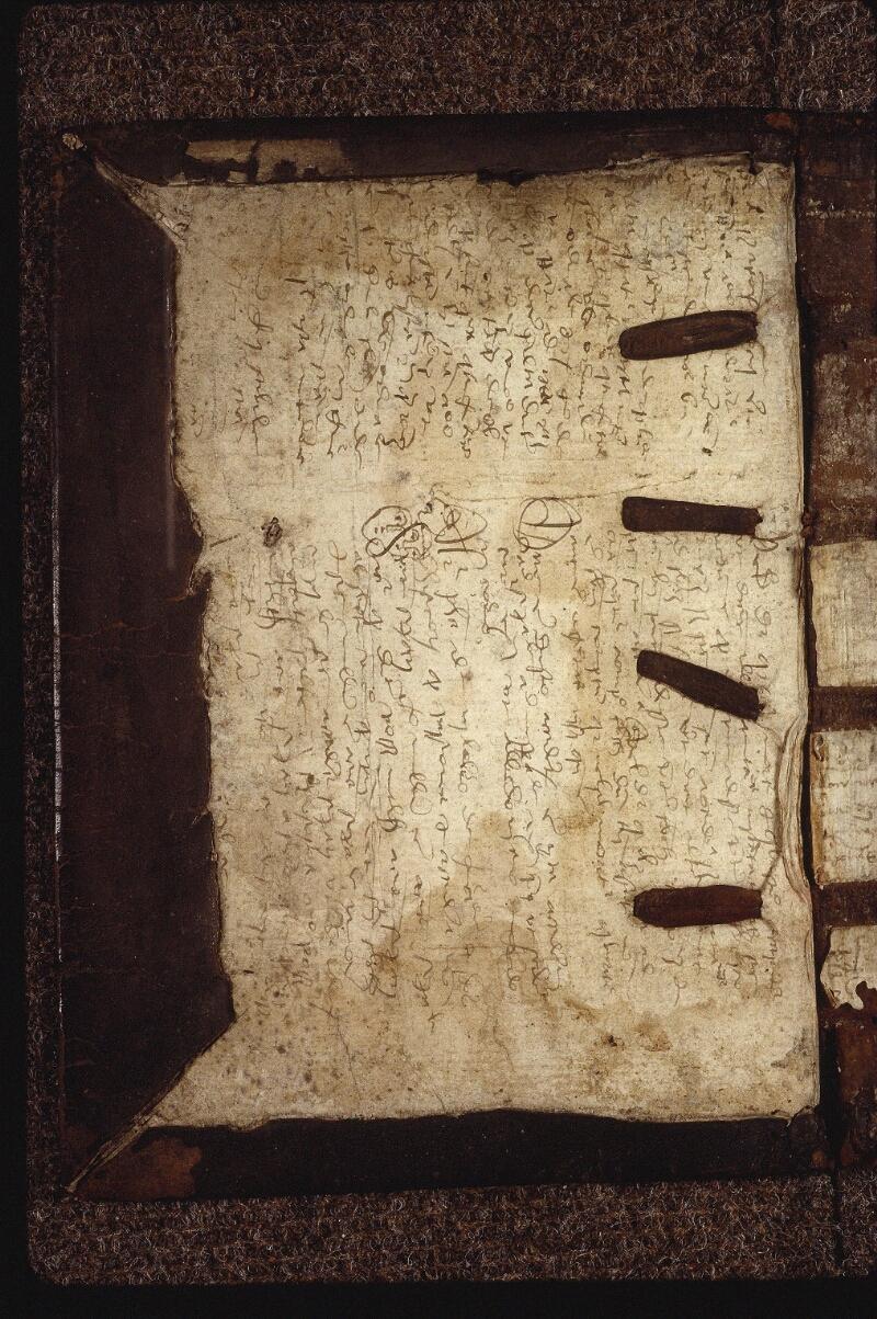 Lyon, Bibl. mun., ms. 0563, contre-plat sup. - vue 2