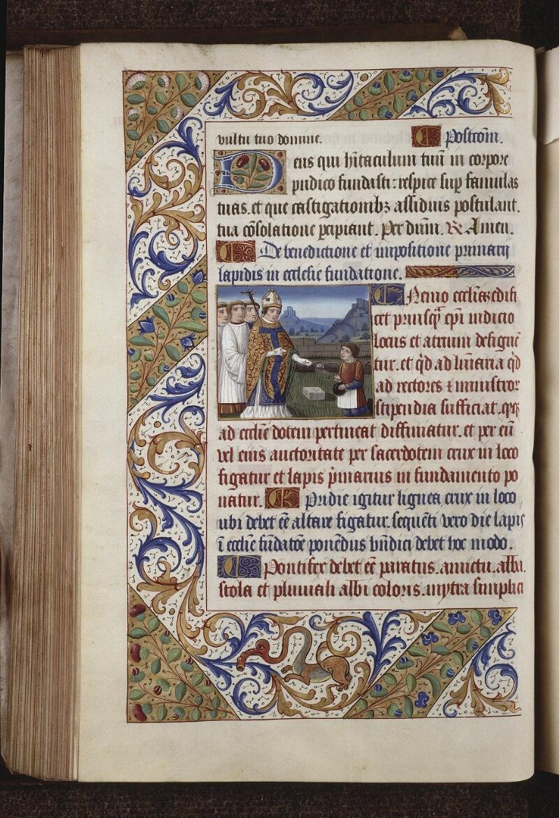 Lyon, Bibl. mun., ms. 0565, f. 087v - vue 1