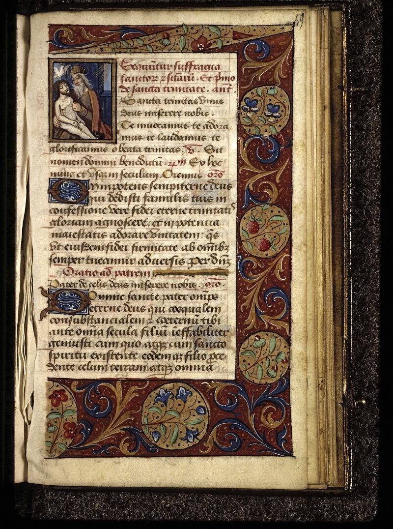Lyon, Bibl. mun., ms. 0572, f. 059 - vue 1