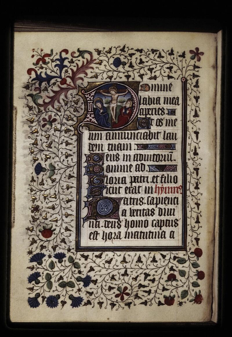 Lyon, Bibl. mun., ms. 0573, f. 052v - vue 1