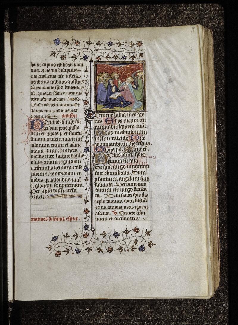 Lyon, Bibl. mun., ms. 0574, f. 018 - vue 1