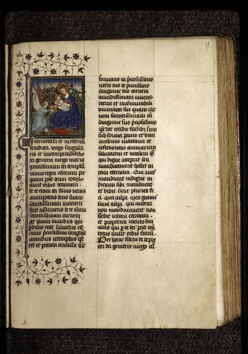Lyon, Bibl. mun., ms. 0574, f. 057 - vue 1