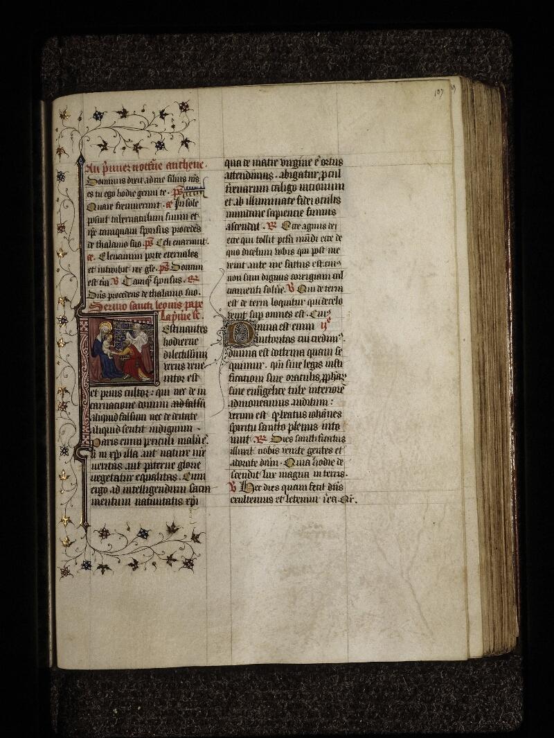 Lyon, Bibl. mun., ms. 0574, f. 107 - vue 1